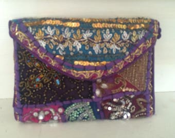 Stunning Rajasthani clutch or evening bag