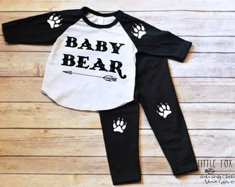 Baby Boy Clothes, Toddler Boy Clothes, Baby Bear, Baby Boy Gift