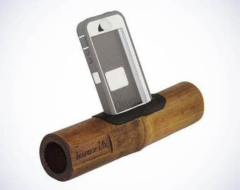 Boozik Bamboo IPhone Amplifier- Otter Compatible