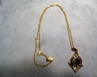 12 Kt Gold Filled Pendant Necklace