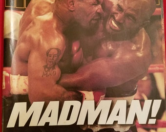 Sports Illustrated  July 7, 1997 Mike Tyson and Evan Holyfield