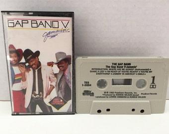 Cassette - The Gap Band V-Jammin