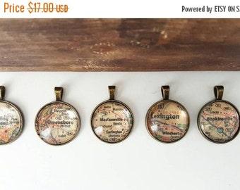 Kentucky necklace, map pendant, kentucky map pendant