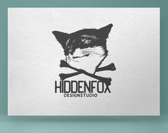 Premade Logo Design, Fox logo, Animal Logo, Photography Logo, Logos and Watermarks, Custom logo