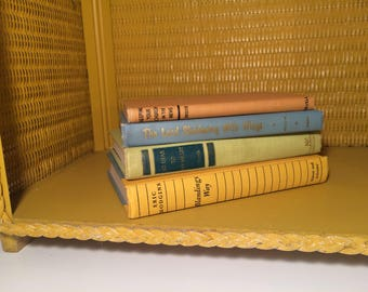 SALE 20% OFF Set of 4 Vintage Books