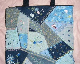 crazy patchwork bag