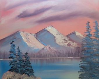 Winter's Sunset - a