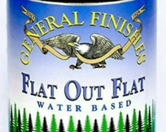 General Finishes Flat-Out-Flat Water Base Sealer..32 oz Quart Size