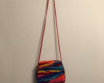 SALE Vintage Iridescent Shoulder Bag