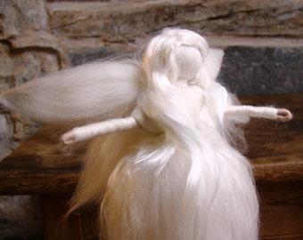 tree topper angel silk Waldorf angel Waldorf fairy tree topper fairy Christmas angel Christmas fairy Christmas tree angel topper fairy elf