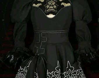 2B neir cosplay dress and 9s