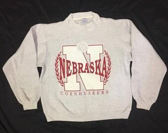 Vintage University of Nebraska crew