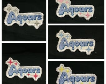 Love Live Sunshine Aqours, Charm, Patch