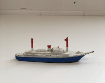 Vintage Tootsie Toy Ship