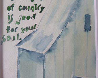 """You might be a little bit rock & roll, but """"a little bit of country is good for your soul.""""  It's OK to be both..."""