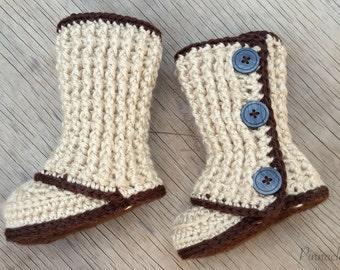 Crochet Pattern Baby Booties Crochet Baby Boots