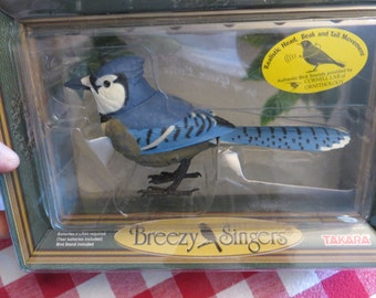 Takara Animated Blue Jay with Authentic Songs w/ free ship