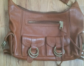 Banana Republic Vintage Leather Handbag