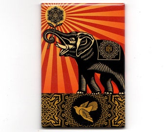 Obey - Elephant Magnet