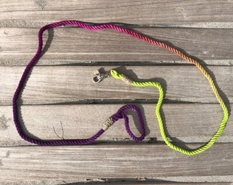 Custom Rope Dog Leash