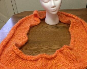 Orange Sherbet Infinity Scarf
