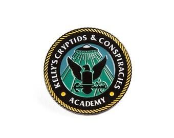 KCC Academy Enamel Pin
