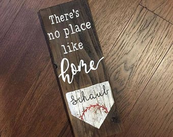There's no place like home (base) reclaimed wood