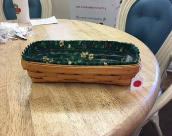 Longaberger Serving Tray Basket 10103
