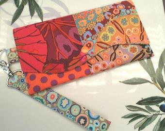 Patchwork Clutch/ Clutch / Wristlet / Patchwork Wristlet /  Wristlet Clutch / Bag / Purse / Carry Bag / Evening Bag / Evening Clutch