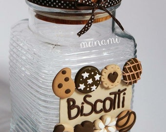 Tin cookie jar