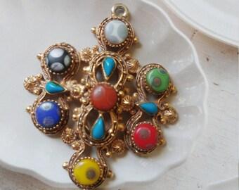 Vintage Florenza Pendant Circa 1960's
