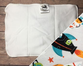 Cloth Diaper Insert - Cloth Diaper Booster - Bamboo Insert - Bamboo Booster - Cotton Bamboo - Trifold - Bifold - Boy Prints