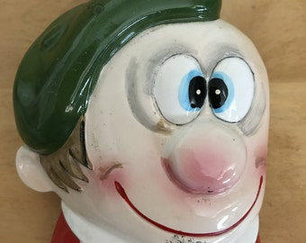 Vintage Big Eyed Guy Mail holder
