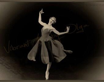 Ballet vintage poster
