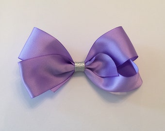 Purple boutique bow, purple bow, boutique bow