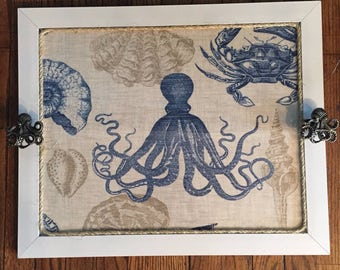 Octopus Nautical Tray