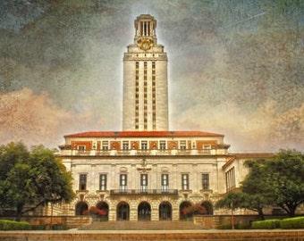 "Austin, Texas - ""Austin UT Tower""-(image is horizontal)"