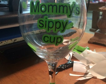 Mommy sippy cup