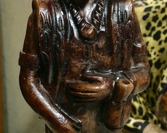 AFRICAN MAN (chief or statesman or elder in the tribe ??)