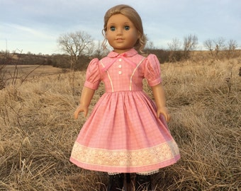 Civil War Doll Dress and Pantaloons for American Girl Dolls