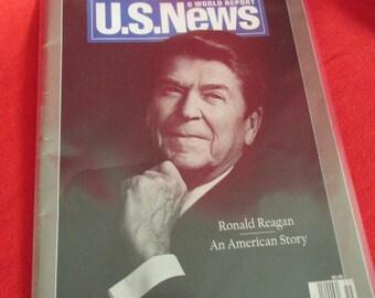 U S News & World Report Commemorative Issue Ronald Reagan 1911 -2004