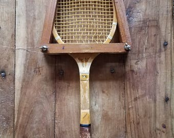 Harry C. Lee & Co. Wood Tennis Racket