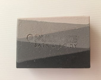 Shades Of Grey Cold Process Soap Handmade Masculine Soap