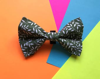 Green Ivy Bow Tie