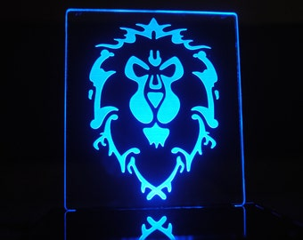 World of Warcraft Alliance LED Desk Lamp