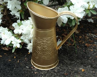 Grecian Gold Pitcher
