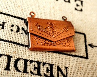 Purse charm vintage style pendant jewellery supplies C178
