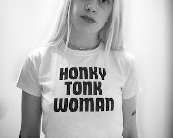 Rolling Stones Tshirt  - HONKY TONK WOMAN