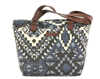 Eva Indigo Shoulder Bag by Bella Taylor