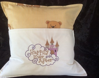 Reading cushions, happily ever after, teddies, story time